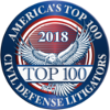 America�s Top 100 Civil Defense Litigators